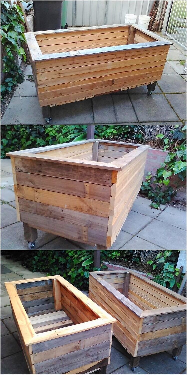 Better Homes And Gardens Pallet Planter Box