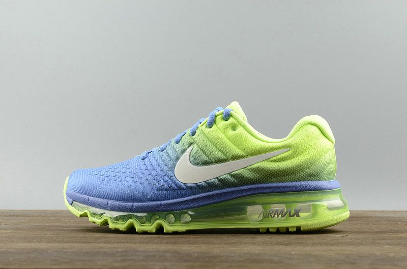 Youth Big Boys Nike Air Max 2017 849560 400 Polar White Ghost Green Spring  Summer Running 3687f28a4