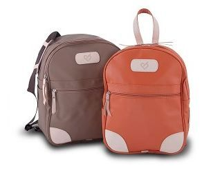 Leather Backpacks With Initials | Frog Backpack