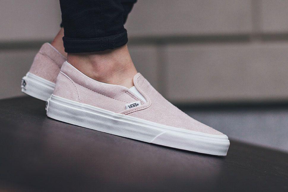 Subtle Croc Details Define This Vans Slip-On • KicksOnFire.com. Pink VansWomen's  VansVans ShoesVans Slip OnVans Classic ...
