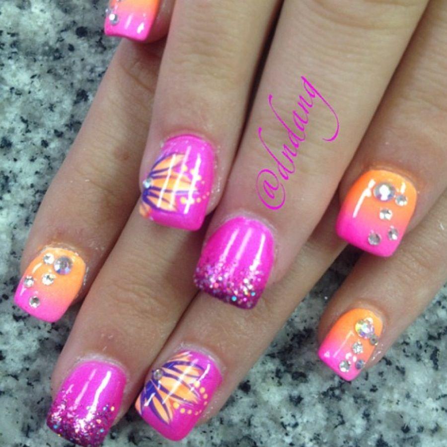 #acrylicnails