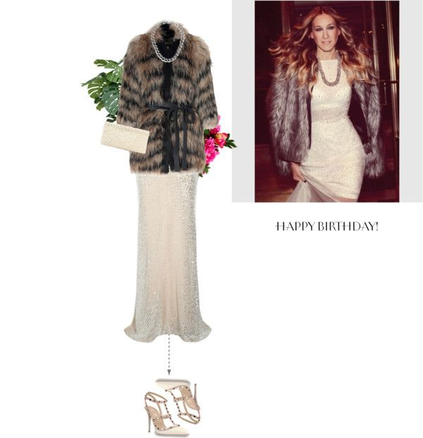 """Happy Birthday, SJP!"" by letterelle ❤ liked on Polyvore"