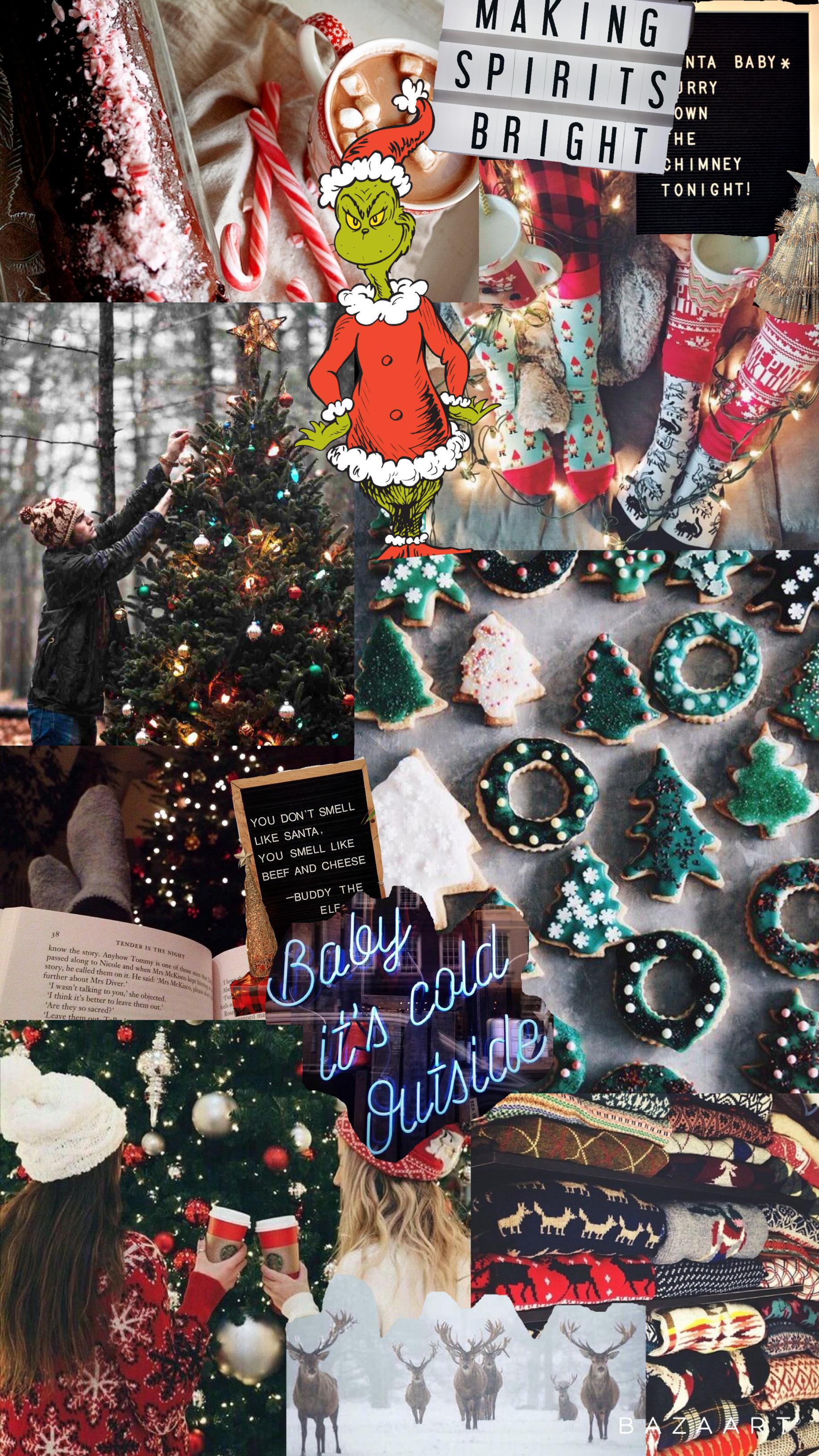 Christmas Aesthetic Backgrounds - Christmas Phone ...