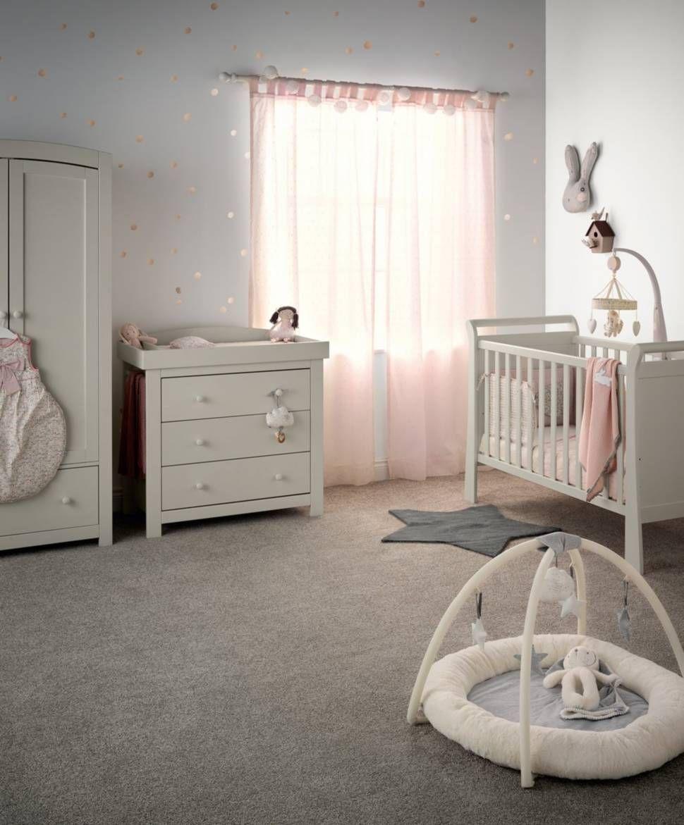 Beautiful Ivory Nursery Furniture Set