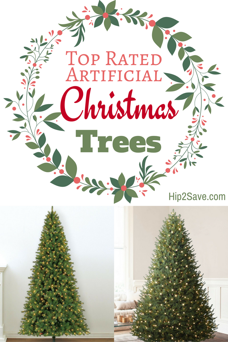 Top-Rated Artificial Christmas Trees | Christmas tree and ...