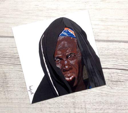 #Peinture #afrique africaine femme ethnique : image non libre de droit