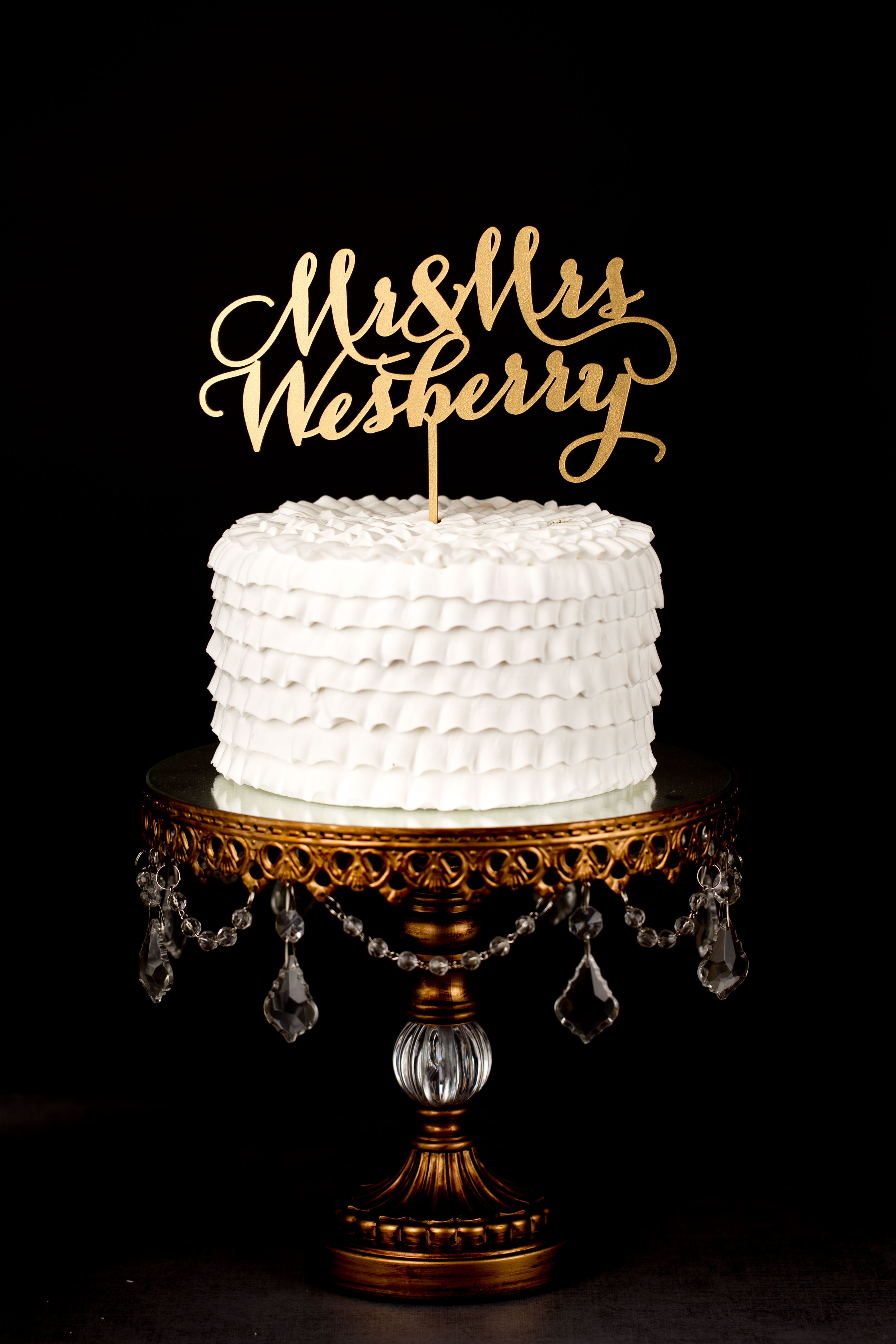 Pin By Better Off Wed On Better Off Wed Custom Toppers Happy Anniversary Cakes Happy Birthday Cake Topper Marriage Anniversary Cake