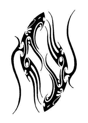 tatouage poisson symbolique du signe astrologique des poissons id e tatouage pinterest. Black Bedroom Furniture Sets. Home Design Ideas