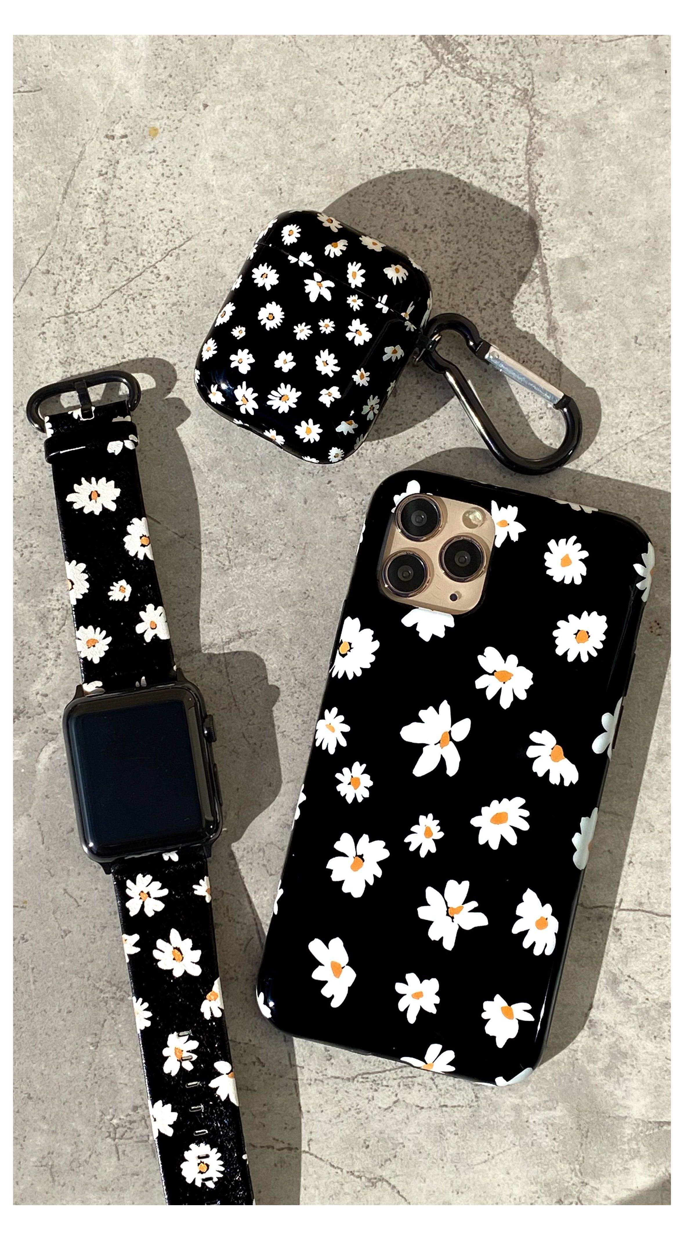 Daisy for iphone apple watch airpods elemental cases