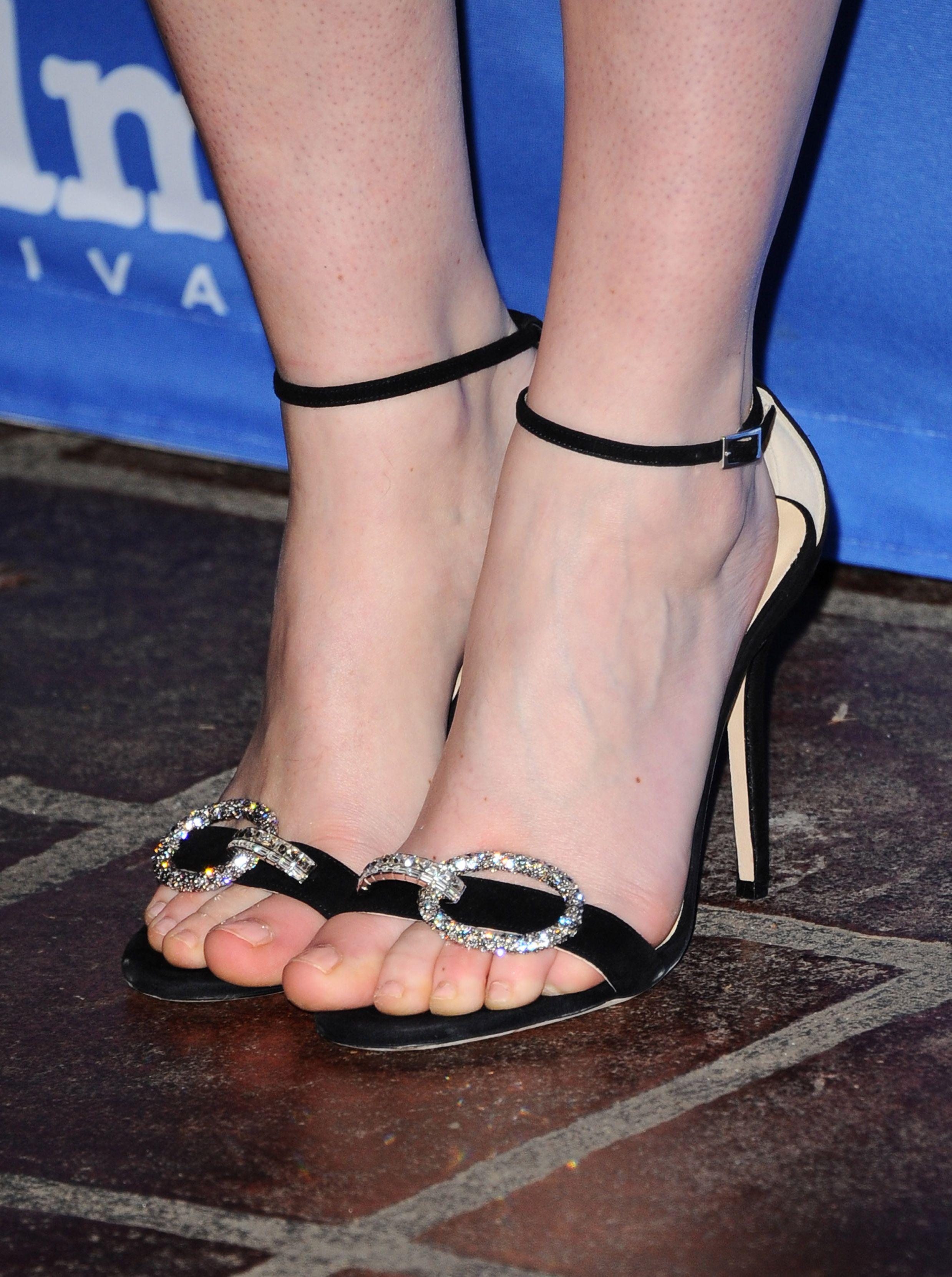 Felicity Jones's Feet