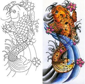 Japanese Koi Tattoo Designs Coy Fish Tattoo Designs Koi Fish Tattoo Drawings Animal Tattoo Designs Koi Tattoo Design Koi Fish Tattoo Japanese Koi Fish Tattoo