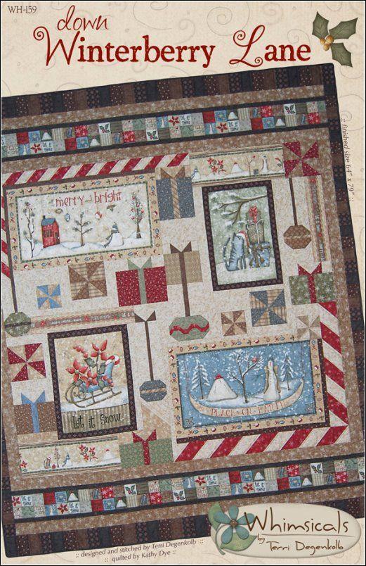 Winterberry Lane Panel Pattern