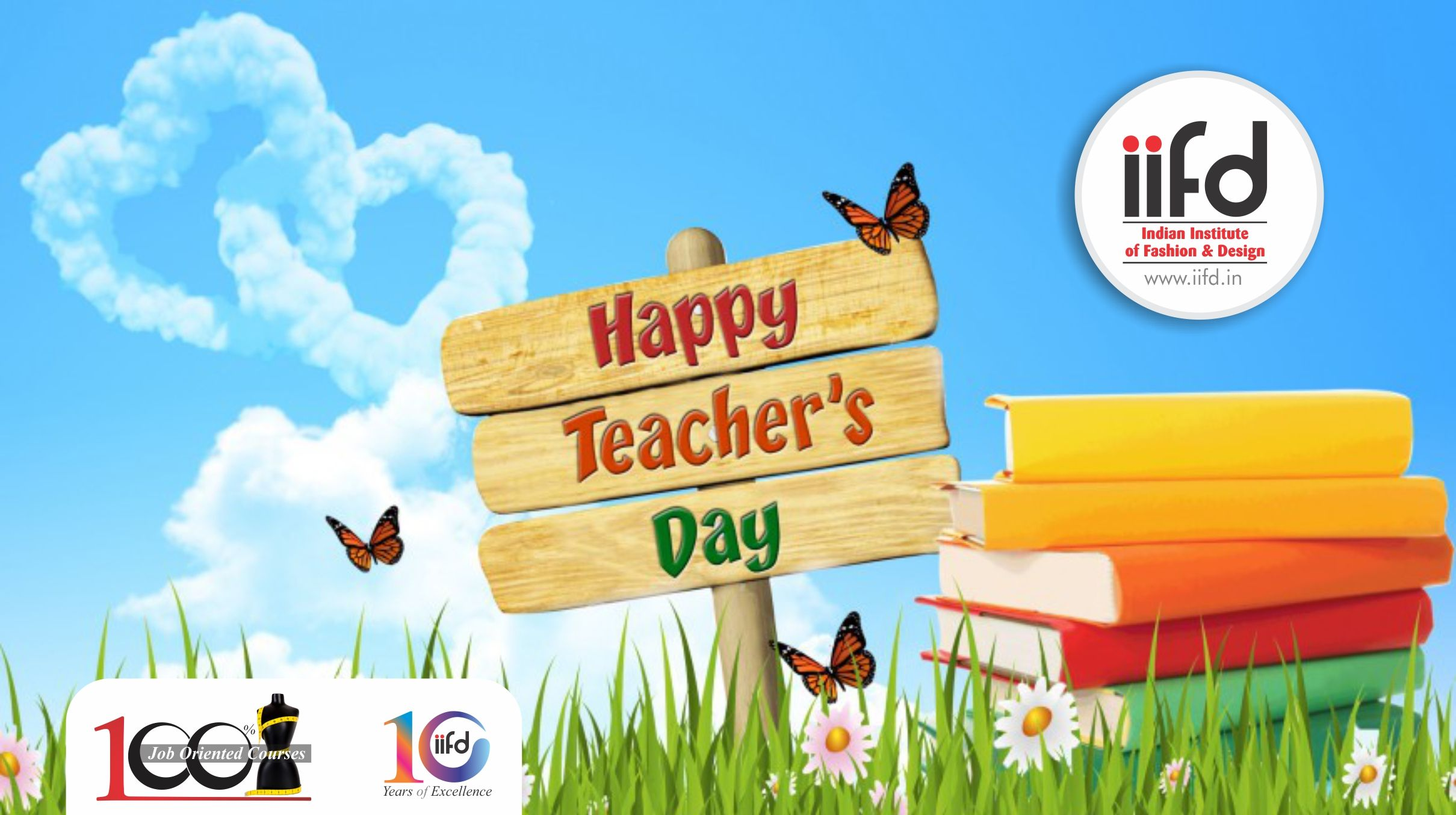 Happy Teacher S Day To All Best Fashion Degree Institute In Chandigarh 100 Plac Fashion Designing Course Happy Teachers Day Fashion Designing Institute