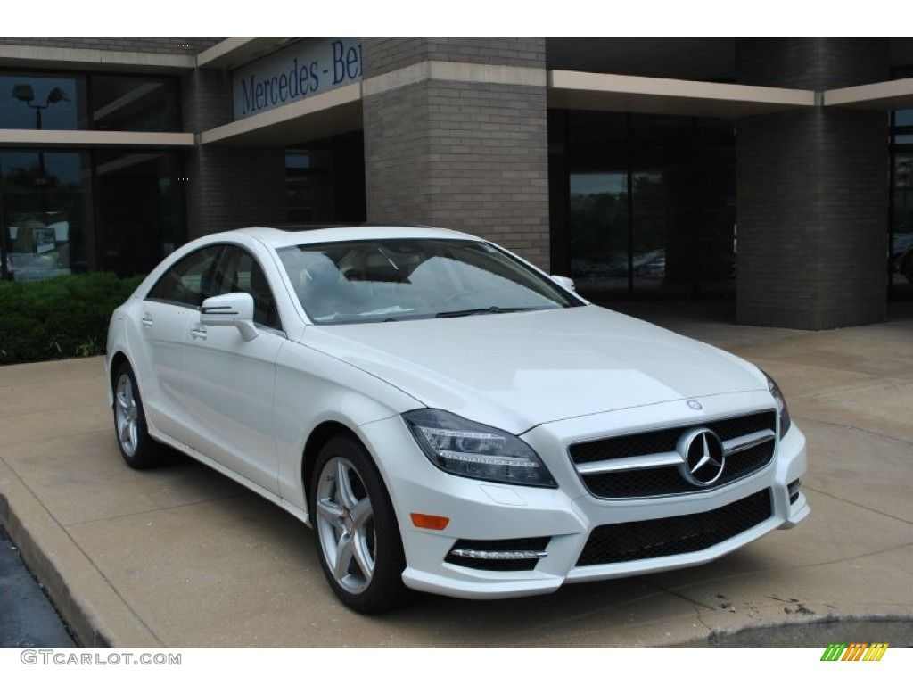 mercedes benz cls 550 2014 diamond white metallic 2014. Black Bedroom Furniture Sets. Home Design Ideas