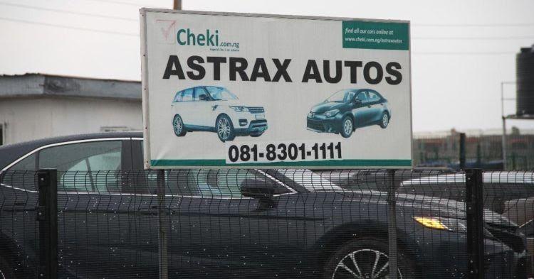 Efcc raids astrax auto shop impounds 29 cars car shop