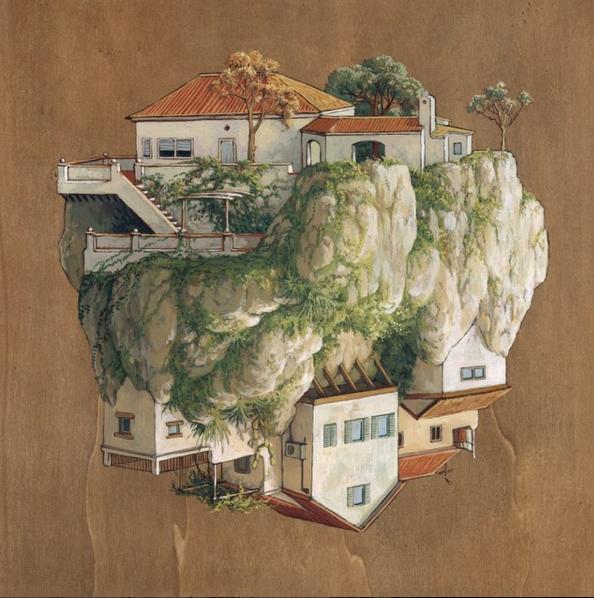 Mind Blowing Woods Paintings By Spanish Artist Cinta Vidal