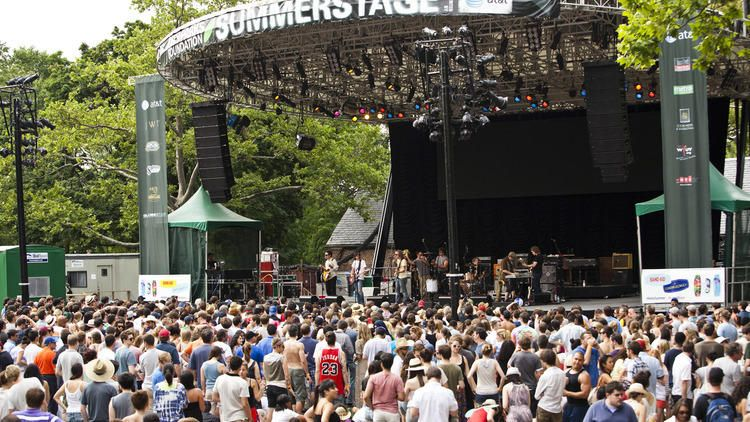 Your Guide To Summerstage 2019 Summer In Nyc Summer Music Festivals Music Festival List