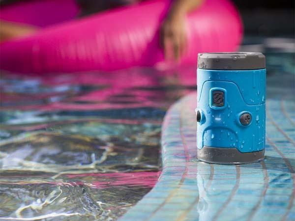 Resultado de imagen para SCOSCHE BOOMBOTTLE H2O SPEAKER, WATERPROOF, BLUETOOTH-BLUE