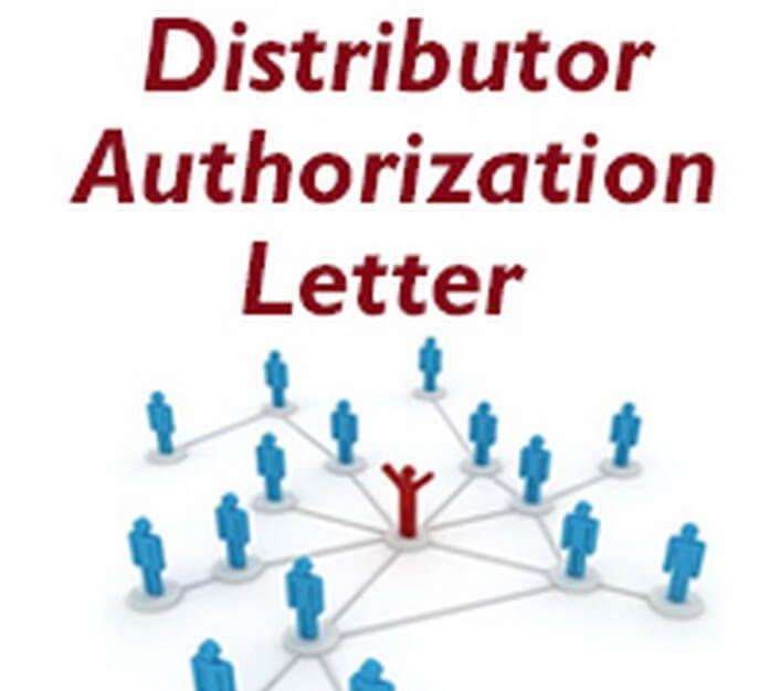 Authorization Letter Distributor  Home Design Idea