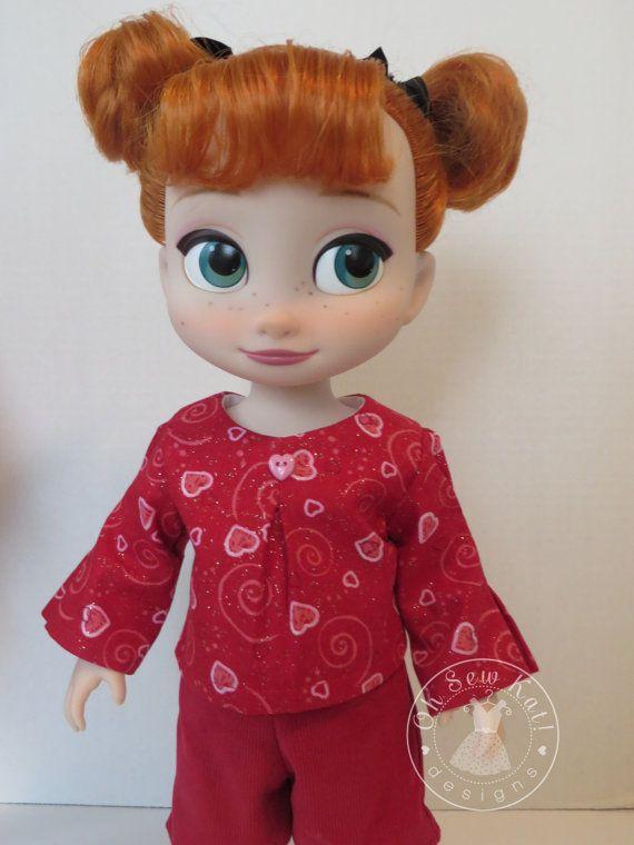 Ropa Disney Animador Doll - San Valentín - Blusa encaja muñecas de ...
