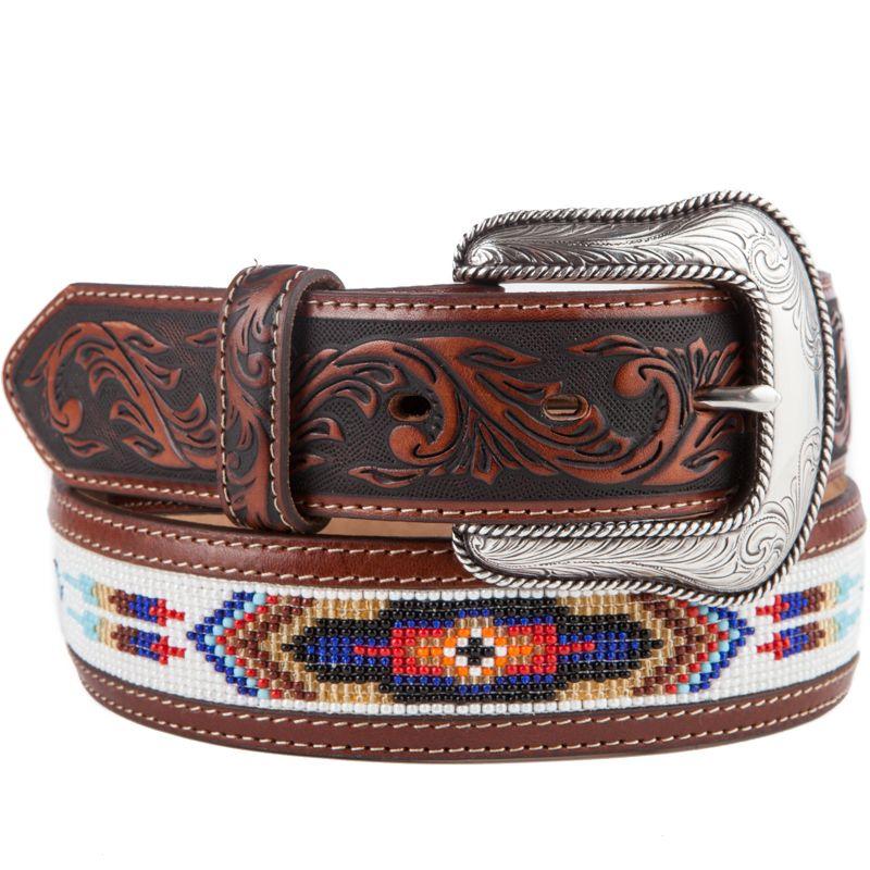 Shop Men S Justin Pueblo Spirit Native American Beaded