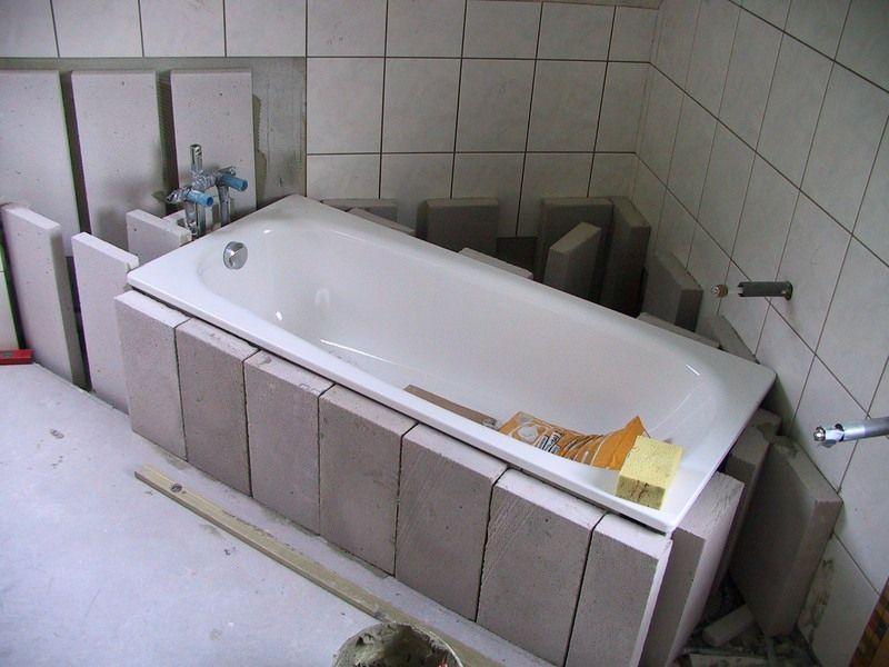 Badewanne Einbauen Douches
