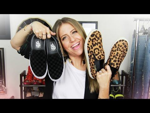 How to Wear Slip-On Sneakers! - YouTube