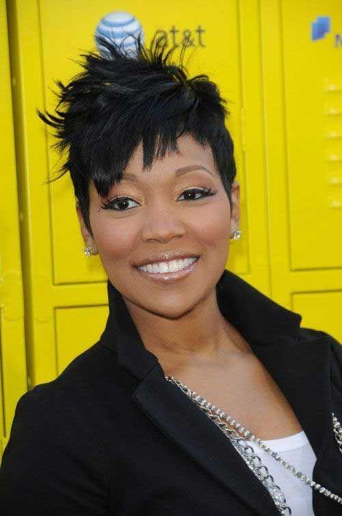 Short Haircuts For Black Women Over 40 Cortes De Cabello