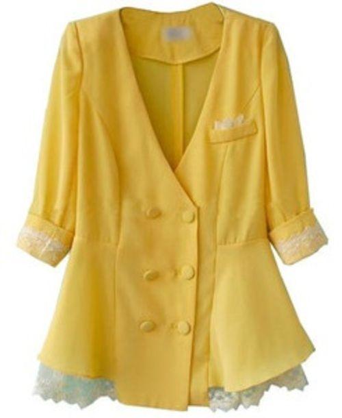 Mellow Yellow Blazer - $37.00