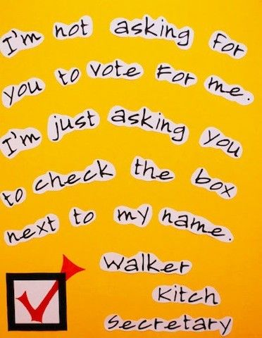 Hilarious Student Council Campaign Poster Ideascheck The Box