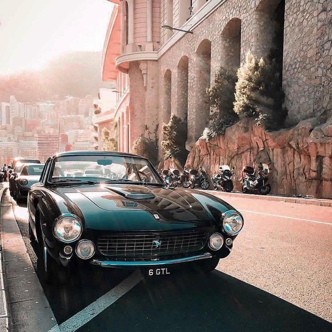 Keep Classy With The Ferrari 250 Gt Lusso Follow Menlabel Credit Pierrehgmn In 2020 Vintage Muscle Cars Ferrari Classic Car Show
