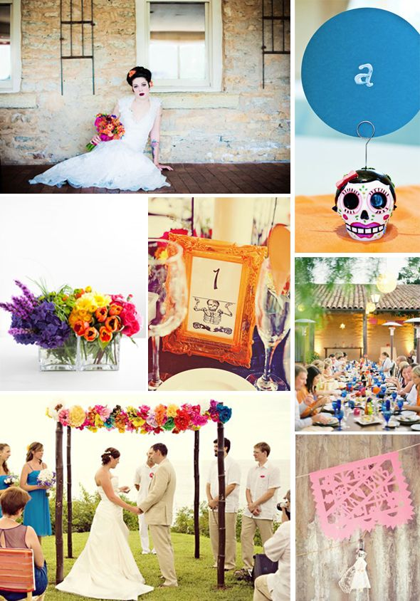 Dia de los Muertos Destination Wedding Inspiration | The Destination ...