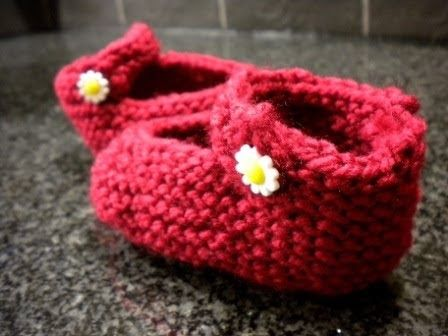 Wonderful Little Mary Jane Booties This Is A Great Pattern And Oh
