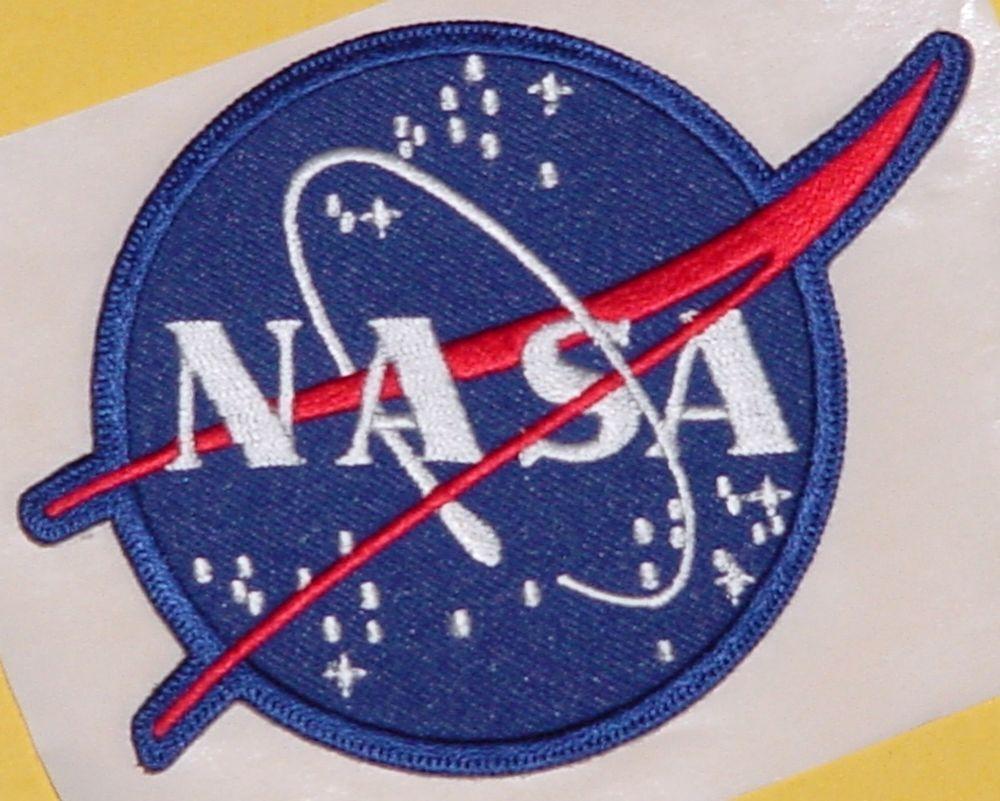 Aufbügler Aufnäher Patch mit Fixierkleber Raumfahrt NASA