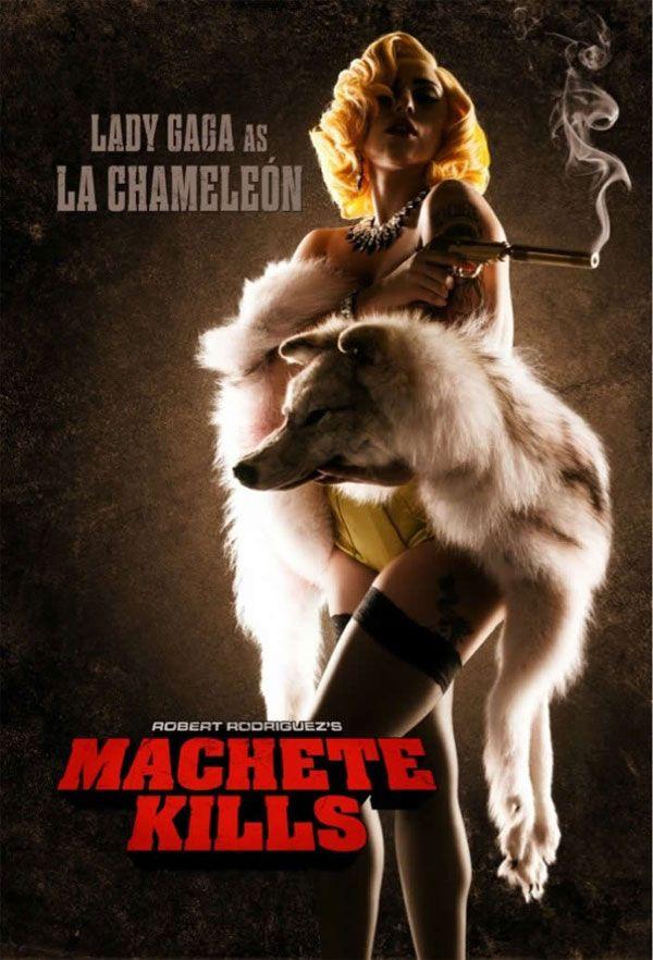 Notícia | Lady Gaga em cartaz de 'Machete Mata' | CinePOP