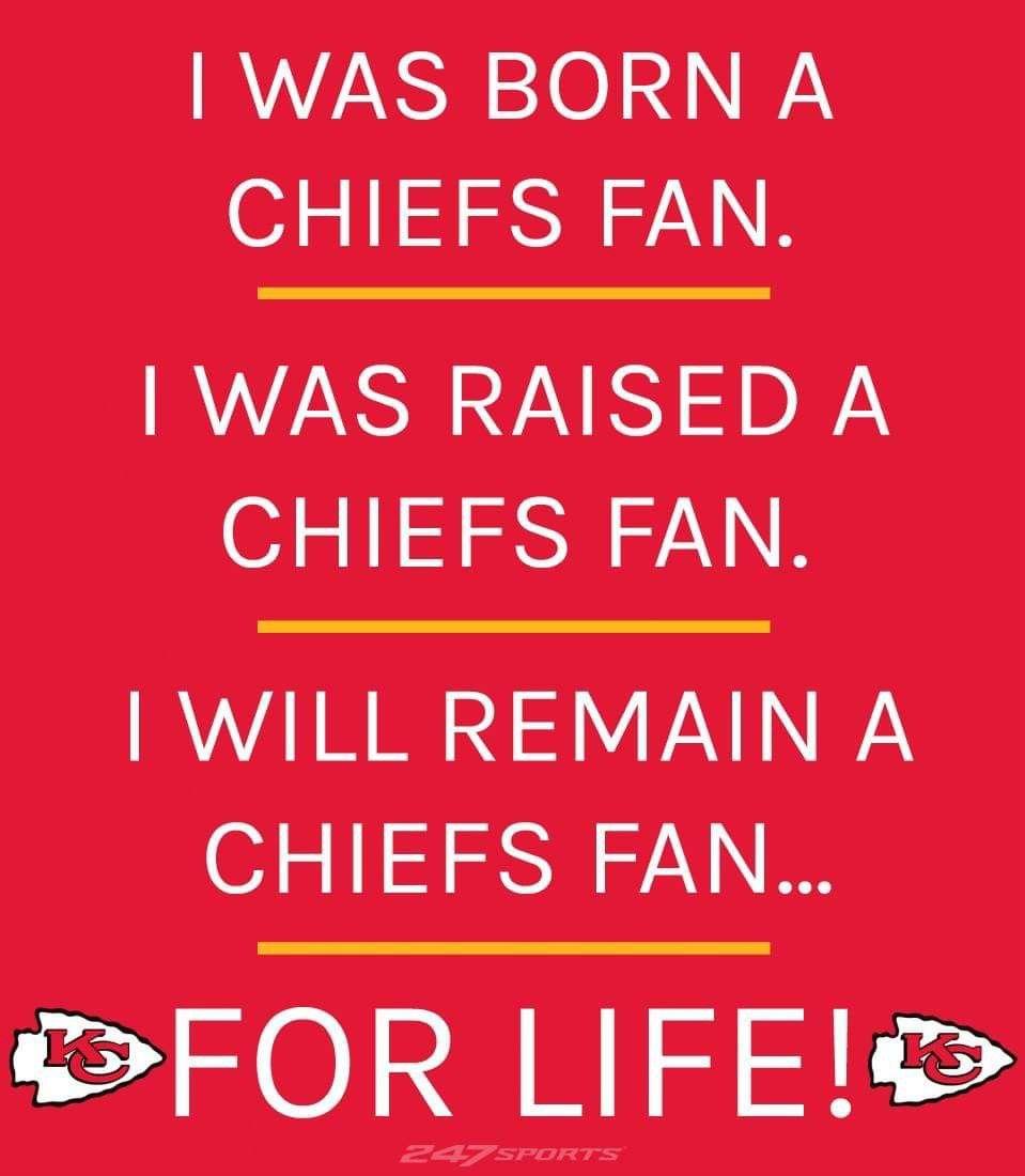 Chiefs fan (With images) Kansas city chiefs, Kansas city