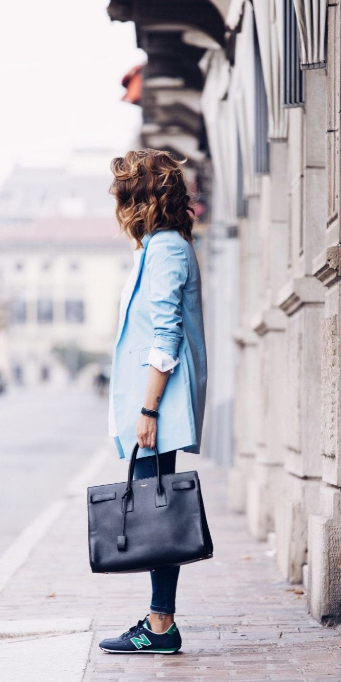 business casual | oversized blazer, cropped pants ...