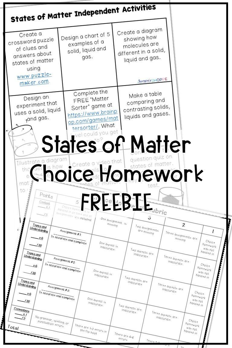 States of Matter Free Activities   States of matter worksheet [ 1152 x 768 Pixel ]
