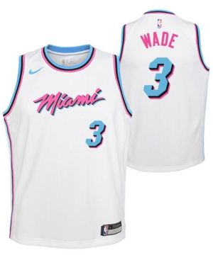premium selection fc0b3 712a7 Nike Dwyane Wade Miami Heat City Edition Swingman Jersey ...