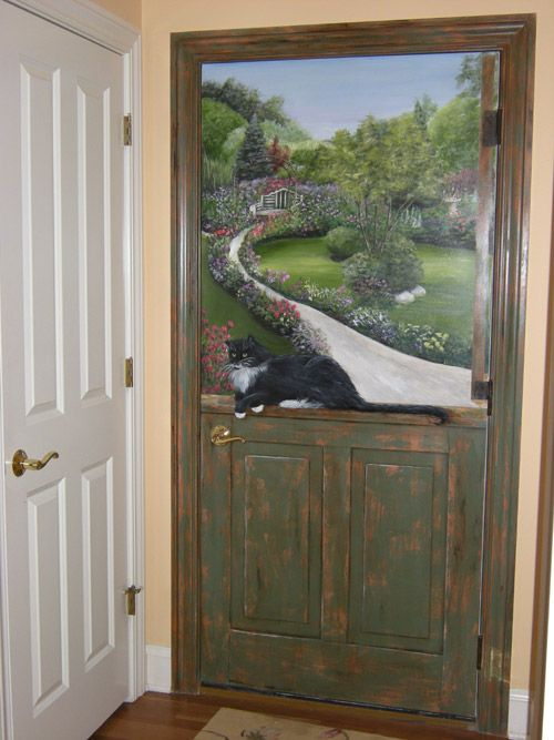 Door Murals | Murals and | Pinterest | Door murals, Doors ...