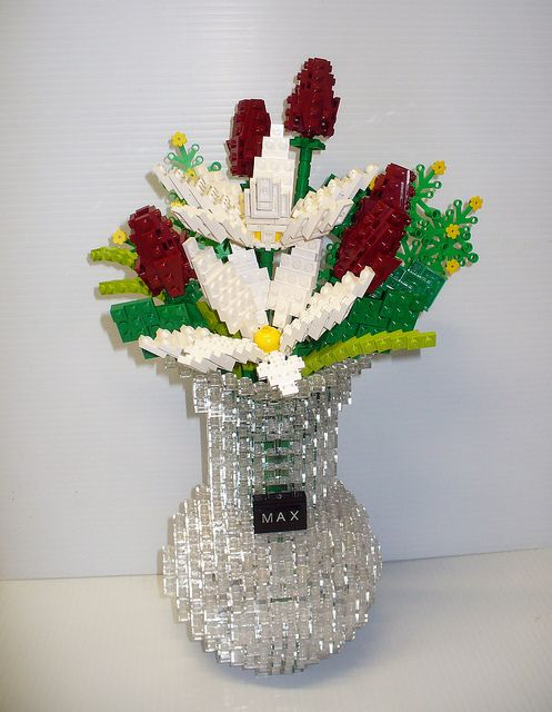Lego Flowers For Max Lego Legos And Lego Ideas