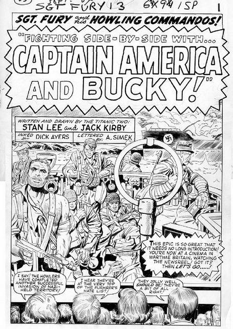 JACK KIRBY    Sgt. Fury 13  JACK KIRBY  Birth nameJacob Kurtzberg  BornAugust 28, 1917  New York City. New York  Died February 6, 1994 (aged 76)  Thousand Oaks, California    NationalityAmerican  Area(s)Penciller, Inker, Writer, Editor  Pseudonym(s)The King  Nota http://thejobsfor13yearolds.com/summer-jobs-for-13-year-olds/  http://thejobsfor13yearolds.com/babysitting-jobs-for-13-year-olds/