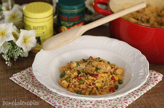 PANELATERAPIA - Blog de Culinária, Gastronomia e Receitas: Galinhada Fácil