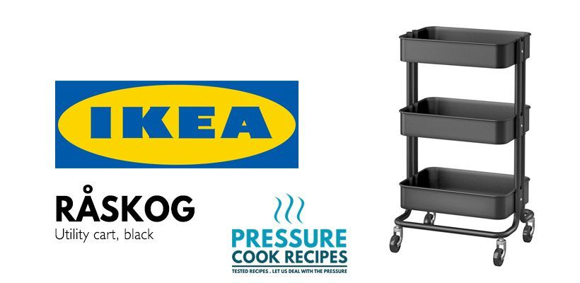 Merveilleux 10 Common Mistakes For New Instant Pot Users: IKEA Utility Cart For Instant  Pot Storage