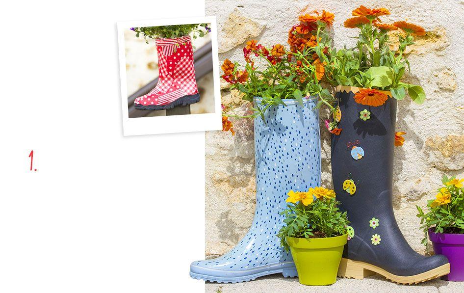 Carnet d 39 id es bottes jardini res v nement jardinerie truffaut am nagement jardin - Truffaut jardiniere ...