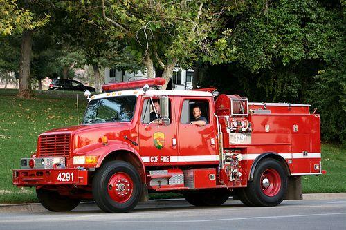 Yuciapa Fire Fire Trucks Fire Engine Fire Rescue