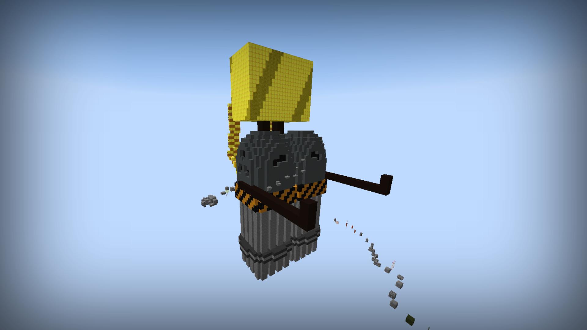 Jetpack Joyride McMakistein Anything Minecraft Except Skins - Minecraft redstone hauser maps