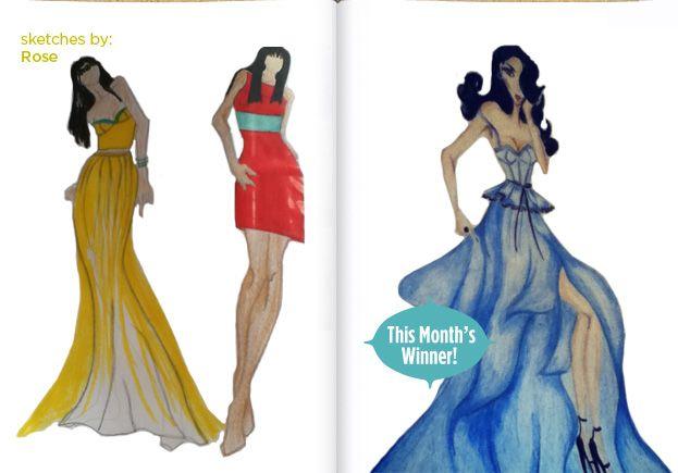 Sketch Contest Fashion Design Sketches Fashion Sketches Fashion Design