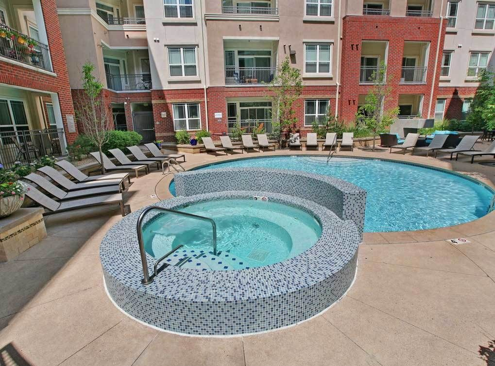 Who's ready for a swim? Enjoy the resortstyle heated