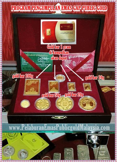 Cara Membeli Gold Bar 1 Gram Program Gap Public Gold Gold Bar Bar Gold